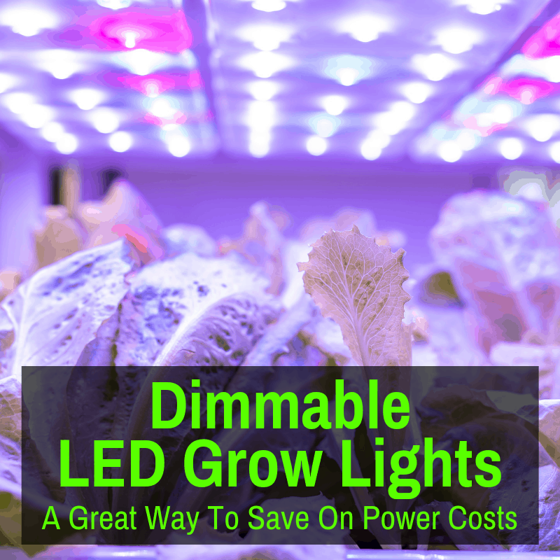 Great dimmable led grow lights