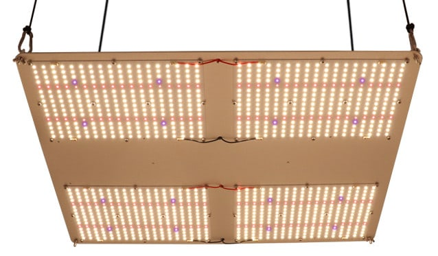 Kingbrite 480W HLG 550 RSpec Equivalent LED grow light