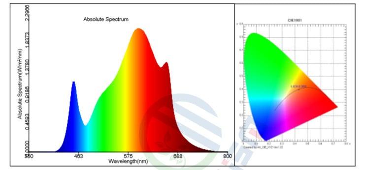 Meijiu 3500K Spectrum