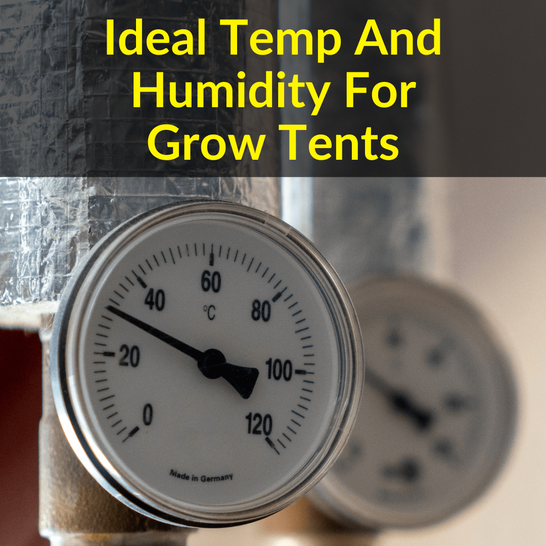 Ideal Temp And Humidity For Grow Tents